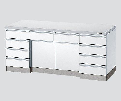 アズワン3-1280-12サイド実験台ホワイト木製タイプ2400×750×800 B07BD2MGBZ