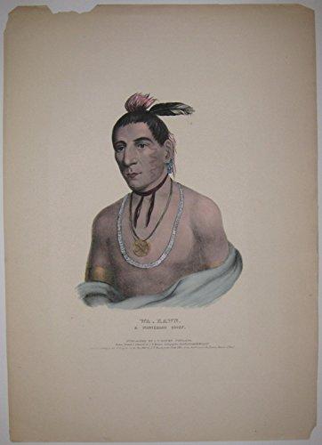 Wa-Kawn, A Winnebago Chief.