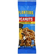 Planters Cocktail Peanuts, Lightly Salted, 2 oz. Single Serve Bags (Pack of 36)