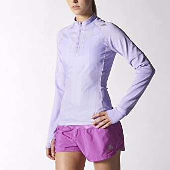 781af8fb17259 adidas Supernova Storm Half-Zip Long Sleeve Womens Running Top-XL   Amazon.co.uk  Clothing