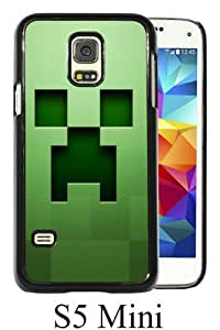 Beautiful And Unique Designed Case For Samsung Galaxy S5 Mini With minecraft background graphics green black Phone Case