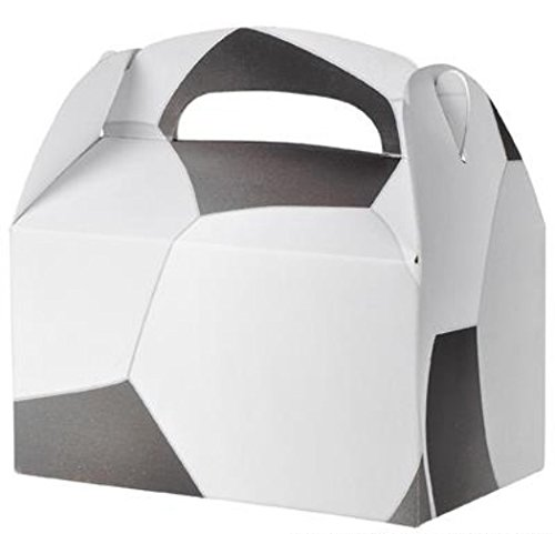 30 SOCCER TREAT BOXES 2.5 DOZEN BY DISCOUNT PARTY AND NOVELTY