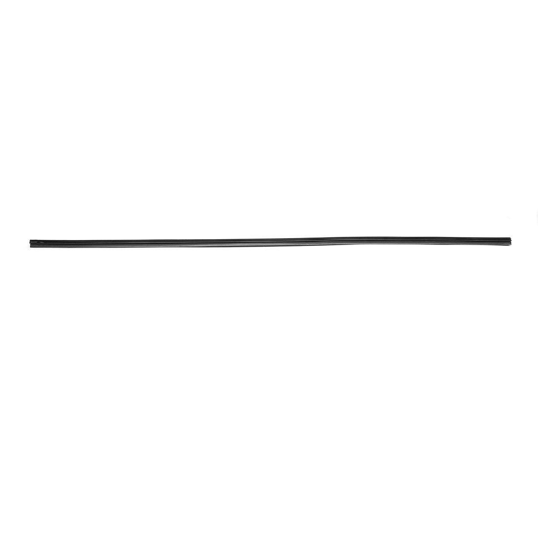 sourcing map 7.8mm Width 28 Inch Car Bracketless Wiper Blade Rubber Refill Strip