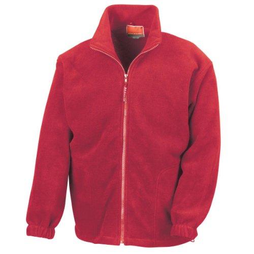 Result Polartherm(TM) Jacket, Chubasquero para Hombre Rojo