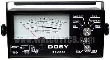 Amazon com: Dosy CB Ham Radio SWR Watt Meter Tr1000 Mobile