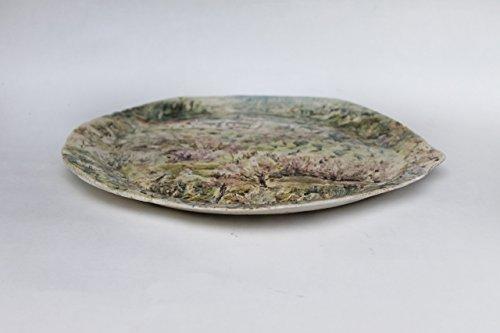 ... Hand Painted Ceramic Plateceramic platterItaly Tuscany Florence wall plate ... & Hand Painted Ceramic Plateceramic platterItaly Tuscany Florence ...