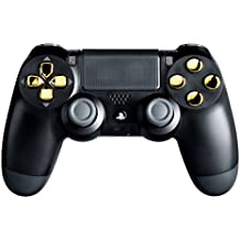 PS4 Modded Controller Gold Chrome - Playstation 4 - Master Mod Includes Rapid Fire, Drop Shot, Quick Scope, Sniper Breath, and More - Works for all Call of Duty Games