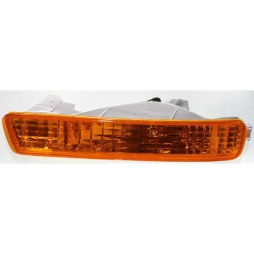 DAT 94-95 HONDA ACCORD FRONT SIGNAL LIGHT ASSEMBLY IN THE BUMPER LEFT DRIVER SIDE ()