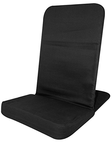 back jack floor chair (original backjack chairs) - standard size (black)