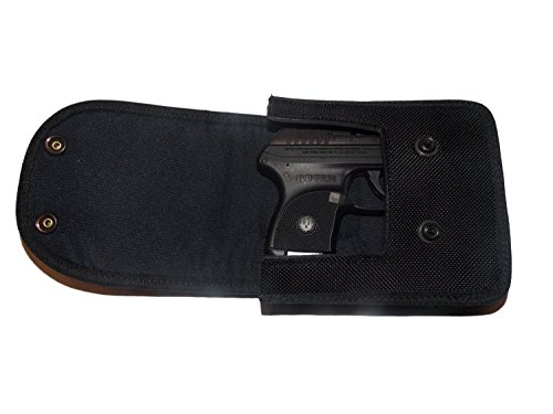 Blue Stone Safety NHC-001 Nylon Concealment Belt Clip Holster Case, Small, Black
