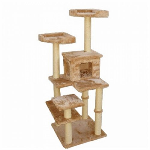 majestic-pet-majestic-66-inch-casita-cat-tree-mp-8006