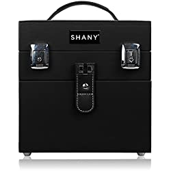 SHANY Color Matters - Nail Accessories Organizer and Makeup Train Case - Black