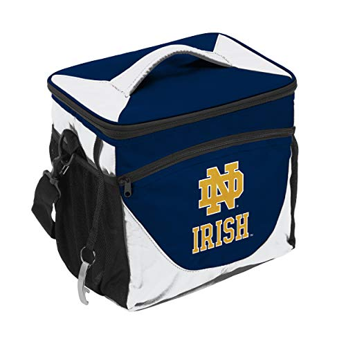 Dame Notre Tailgate Irish - NCAA Notre Dame Fighting Irish 24-Can Cooler with Bottle Opener and Front Dry Storage Pocket