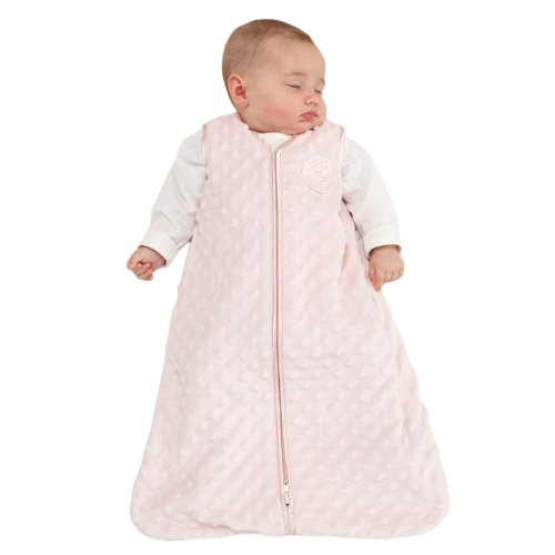HALO SleepSack Micro Fleece Wearable Blanket, Pink, Large by Halo