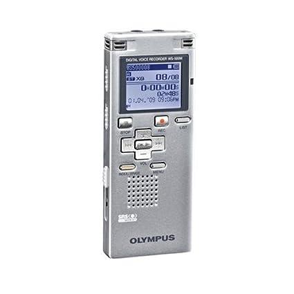 amazon com olympus ws 500 digital voice recorder silver electronics rh amazon com Olympus Recorder 4123 N Olympus Voice Recorder VN-7200