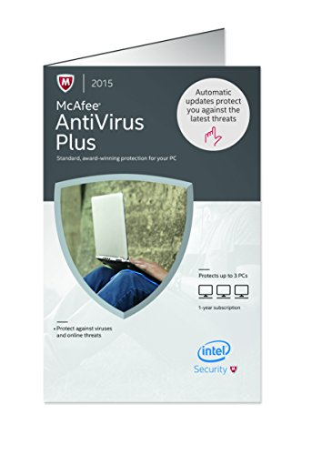 McAfee Antivirus Plus 2015 PCs