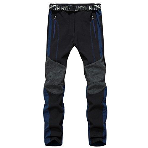 Nascondere Fym Pantaloni Sci m Salita Dyf Peluche Giacche Resistenza Dei Da Solido Allo Di Blu Addensato Colore Scivolamento xwUqaBd