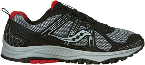 Saucony Excursion TR10 Wide Men 8 Grey | Black | Red by Saucony (Image #7)