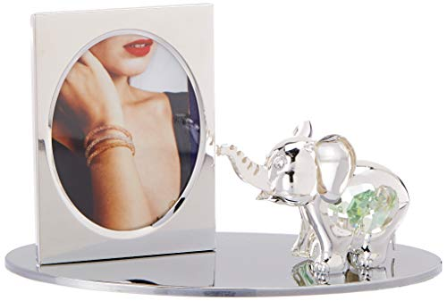 Matashi Cartoon Elephant Picture Frame with Genuine Crystals