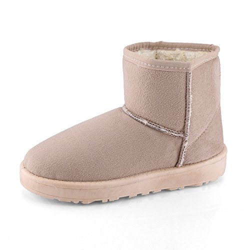 Warm Women Boots Brown Warm Boots Brown Women Boots Women Warm Bd41qq