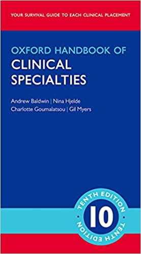 Oxford handbook of clinical specialties oxford medical handbooks oxford handbook of clinical specialties oxford medical handbooks 10th edition fandeluxe Images