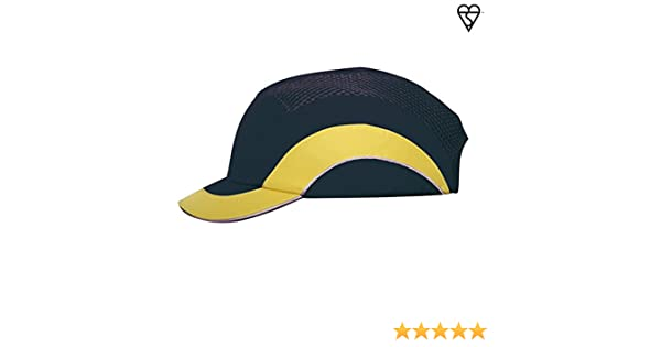 45e196aa9f4f5 HardCap A1+ 282-ABS150-52 Short Brim Baseball Style Bump Cap with HDPE  Protective Liner and Adjustable Back - - Amazon.com
