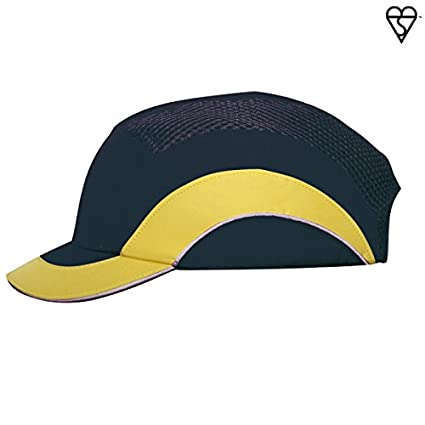 4cb82776aed2f Image Unavailable. Image not available for. Color  HardCap A1+ 282-ABS150-52  Short Brim Baseball Style Bump Cap ...