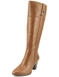Womens Courtnee Wide Calf Closed Toe Knee High Fashion Boots