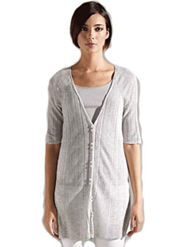 Eileen Fisher Italian Linen Viscose Cardigan L MSRP $228.00