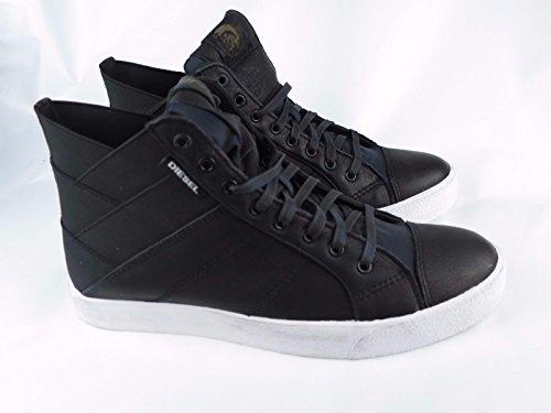 DIESEL Sneakers S TUNNYNGS Herren Designer High Top Schuhe Men Shoes Bi Stoff Y01298 P0927 H1532   EU 45 / USA 12