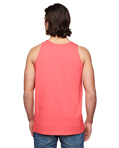 American Apparel Power Washed Tank - Coral / XL