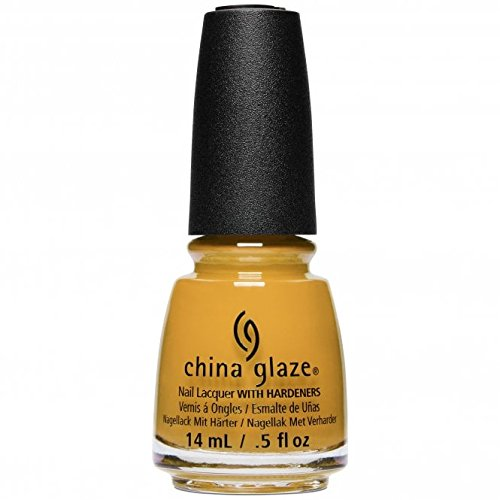 China Glaze Nail Lacquer Polish Ready to WEAR FW'18 Collection - Choose Your Color (1632 - Mustard The Courage)