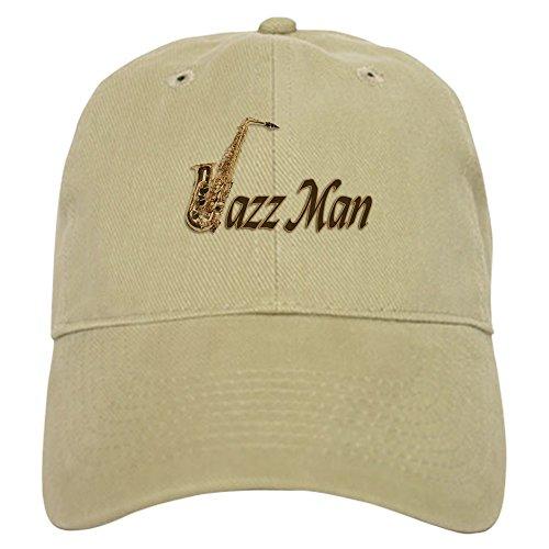 Musical Baseball (CafePress - Jazz Man Sax Saxophone - Baseball Cap Adjustable Closure, Unique Printed Baseball Hat)