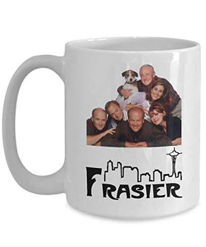 Fraiser Mug with quote - perfect gif for Frasier fans Coffee Mug, Funny, Cup, Tea, Gift For Christmas, Father's day, Xmas, Dad, Anniversary, Mother's -