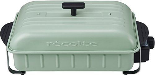 recolte(레꼴뜨) HOME BBQ 레코드《루토》 홈 바베큐 RBQ-1 (쉘 그린)