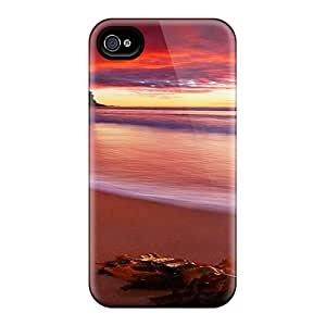 Awesome Beautiful Beach Flip Cases With Fashion Design For Iphone 6plus