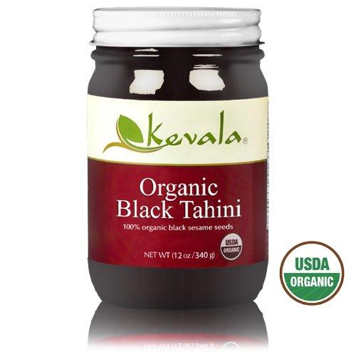 Kevala Organic Black Sesame Tahini 12oz