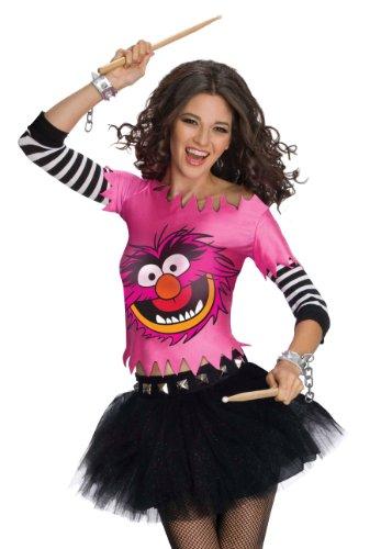 Rubie's Sexy Womens Animal Muppets Electric Mayhem Halloween Costume Large ()