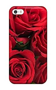 New Arrival Best Red Roses Flower For Iphone 5/5s Case Cover