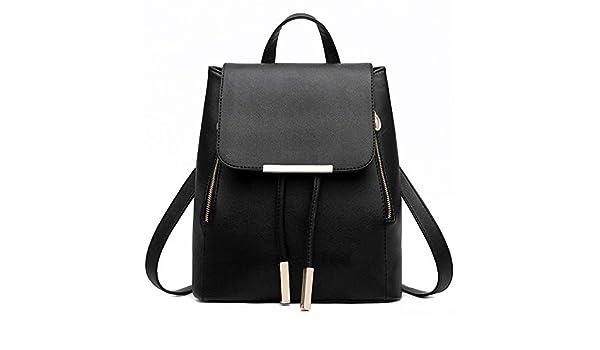 Amazon.com: Backpack Women Pu Leather Female Backpacks Teenager School Bags Mochila Feminina Rucksack Mochilas Mujer 2018: Shoes