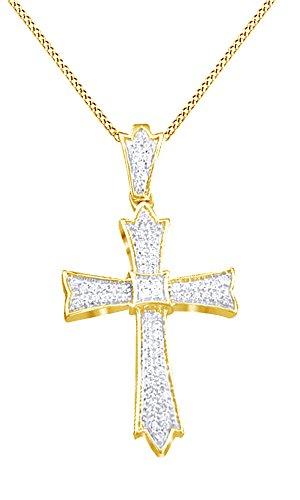 Yg Diamond Cross - 4