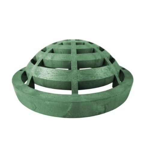 "9"" Round Atrium Drainage Grate - Green new"
