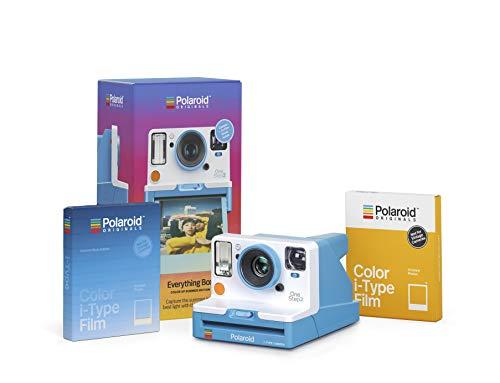 Polaroid Originals Everything Box – Onestep 2 VF Summer Blue Camera and Film Bundle (4937)