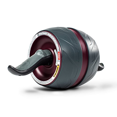 The Perfect Fitness Ab Carver Pro is an ab roller with built-in resistance to help maximize muscle growth and definition in abdominals and arms. A kinetic engine, comprised of a durable carbon steel spring, offers resistance on the roll out a...