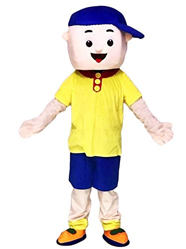 rushopn Caillou Mascot Costumes Boy Cospaly Cartoon Character -