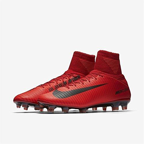 Nike Mercurial Veloce Uomini Iii Calzata Dinamica Scarpe Da Calcio Rosse Fg