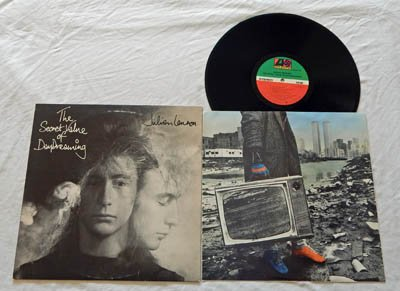 Julian Lennon LP The Secret Value Of Daydreaming (ONE) - Atlantic Records 1986 - Near Mint Vinyl - STERLING - Guest Billy Joel -