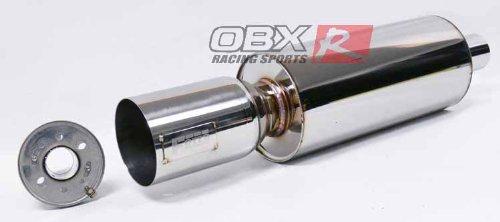 "OBX / Forza Universal Muffler TH2-03 3.0"" Honda Civic Accord Prelude All Car"