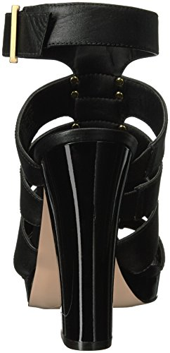 Black Sandal Klein Calvin Benita Women's Platform XO0n14a
