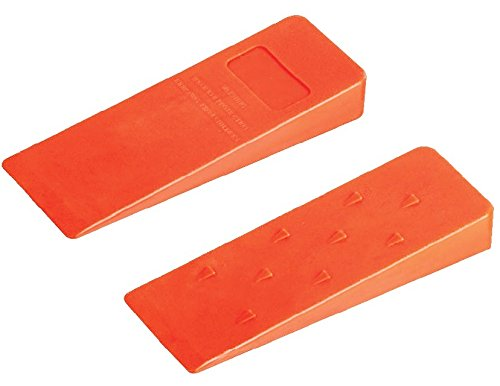 Felling Wedges Chain Saw 2 pieces logging set of 8 inch Perfect for professional Loggers by Qily